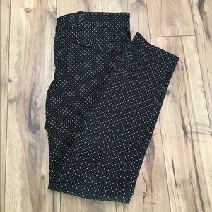 Gap Diamond Geometric Skinny Ankle Pants, Sz 4